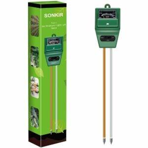 The Best Gifts for Plant Lovers Option: Sonkir Soil pH Meter, 3-in-1 Tester Gardening Tool