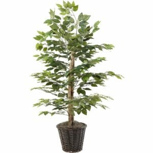 The Best Gifts for Plant Lovers Option: Vickerman Everyday 4' Artificial Ficus Bush