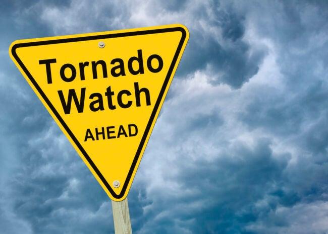 when is tornado season