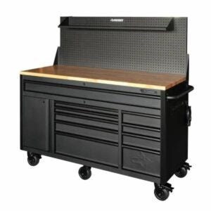 The Labor Day Sales Option: Husky Heavy-Duty 61 in. 10-Drawer Mobile Workbench