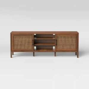 The Labor Day Sales Option: Threshold Warwick TV Stand with Storage