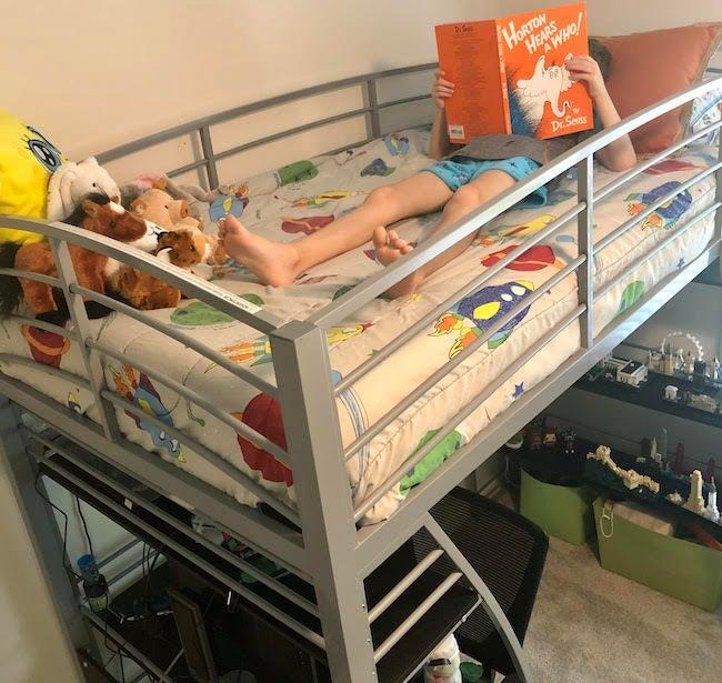 DHP Studio loft bed