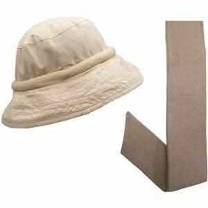 The Gifts for Gardeners Option: Blubandoo Floppy Hatbandoo Bucket Hat with Neckbandoo