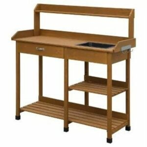 The Gifts for Gardeners Option: Breighton Home Deluxe Potting Bench