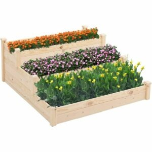 The Gifts for Gardeners Option: Patiomore 3 Tier 4x4 Feet Raised Garden Bed