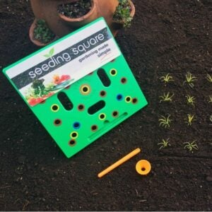 The Gifts for Gardeners Option: Seeding Square Planting Tool