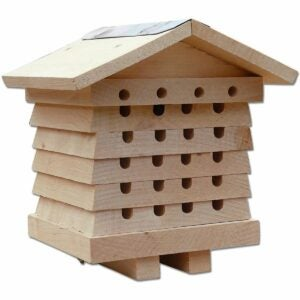 The Gifts for Gardeners Option: SkyMall Mason and Leafcutter Cedar Solitary Bee House