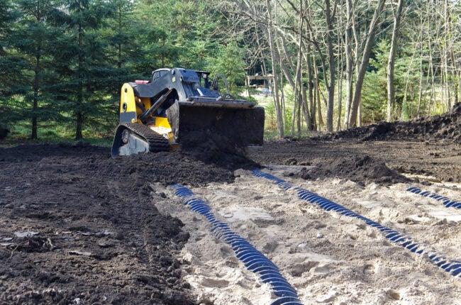 septic drain field