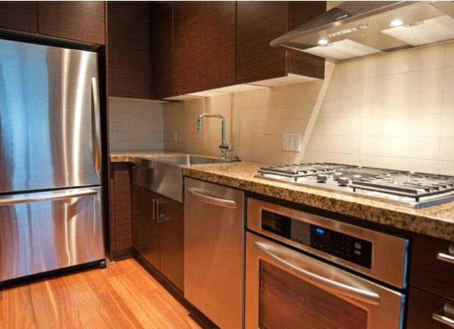fingerprint resistant stainless steel appliances
