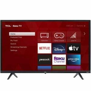 "The Target Black Friday Option: TCL 32"" Class 3-Series HD Smart Roku TV"