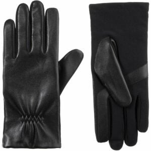 The Best Tech Gifts Option: isotoner Women's Leather Touchscreen Gloves