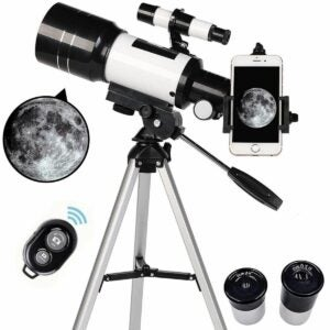 The Walmart Black Friday Option: Telescopes for Kids and Beginners with Tripod