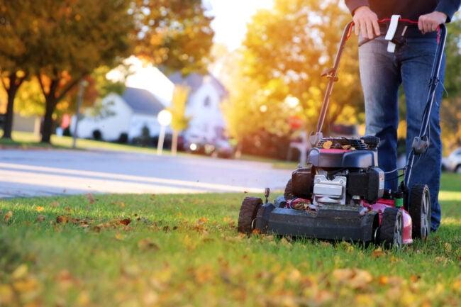 winterize lawn mower