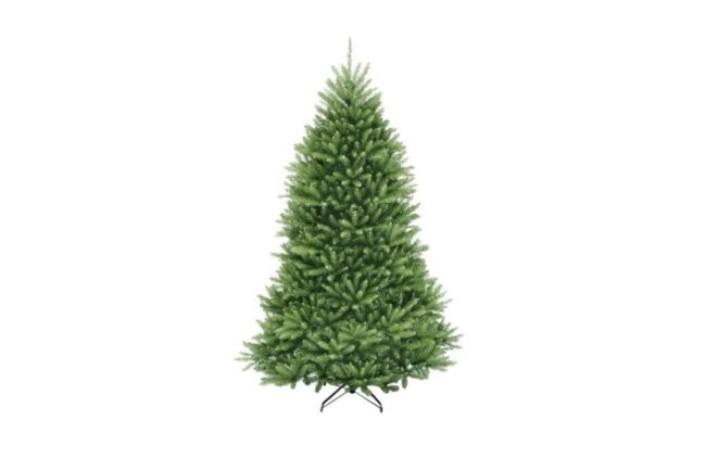 Best Artificial Christmas Trees Option: Home Accents Holiday 7.5 ft Dunhill Fir Unlit