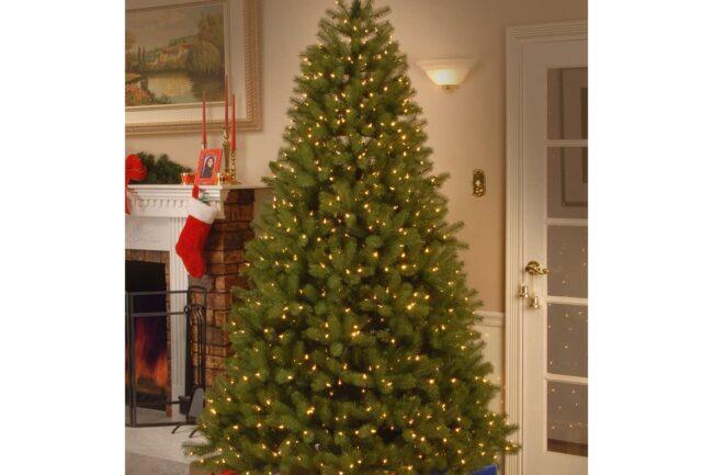 Best Artificial Christmas Trees Option_ National Tree Company 7.5 ft. Downswept Douglas Fir