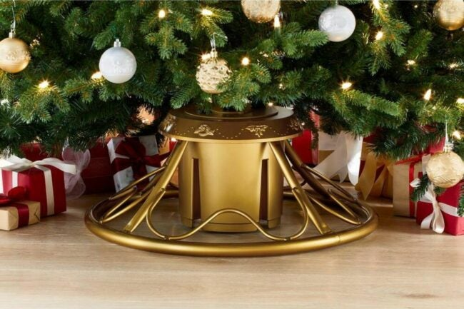 The Best Rotating Christmas Tree Stands Option