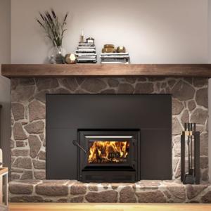 The Best Wood Burning Fireplace Inserts Option: Ventis HEI170 Single Door Wood Fireplace Insert