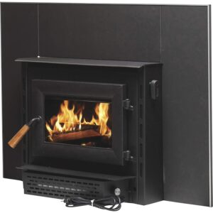 The Best Wood Burning Fireplace Inserts Option: Vogelzang Plate Steel Wood Burning Insert with Blower