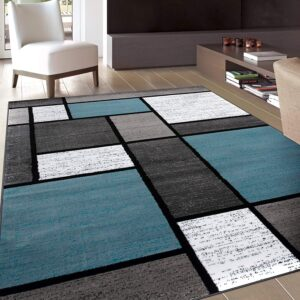 Deals Post 9/22 Option: Rugshop Contemporary Modern Boxes Area Rug