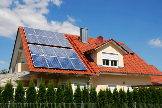 how many solar panels to power a house Article Type