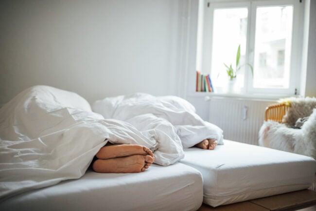 Scandinavian style bedroom