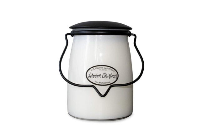 The Best Christmas Candle Option: Milkhouse Candle Company, Victorian Christmas