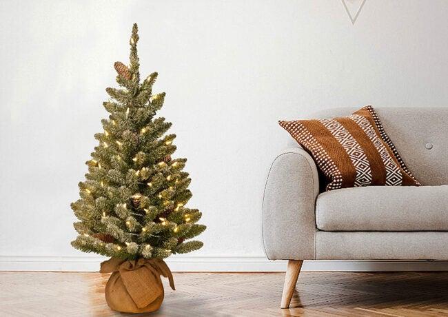 The Best Christmas Decoration Option: National Tree Company Pre-lit Artificial Mini Christmas Tree