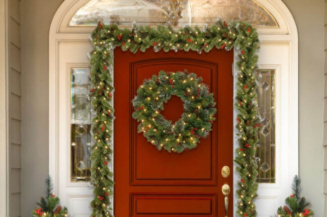 The Best Christmas Garland Option: National Tree Company Crestwood Spruce Artificial Christmas Garland