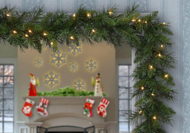 The Best Christmas Garland Option: National Tree Company Winchester Pine Artificial Christmas Garland
