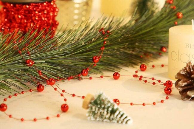 The Best Christmas Garland Option: Pangda Christmas Tree Beads Garland