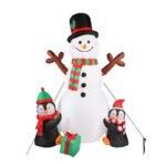 The Best Christmas Inflatables Option: OurWarm 6ft Christmas Inflatables Decorations Outdoor