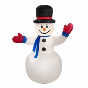 The Best Christmas Inflatables Option: The Holiday Aisle Frosty Inflatable