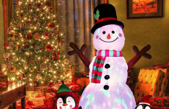 The Best Christmas Inflatables Options