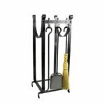The Best Fireplace Tools Option: Enclume 3 Piece Steel Fireplace Tool Set
