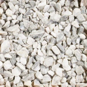 The Best Gravel for Driveway Option: Vigoro Bagged Marble Chips