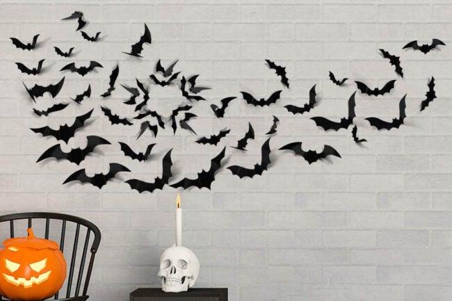 The Best Halloween Decorations Option: Coogam Halloween 3D Bats Decoration