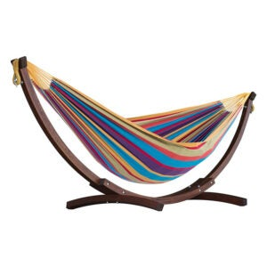 The Best Hammock Stand Option: Vivere Solid Combo Wood Hammock