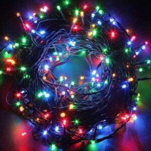 The Best Indoor Christmas Lights Option: Twinkle Star 200 LED 66FT Fairy String Lights
