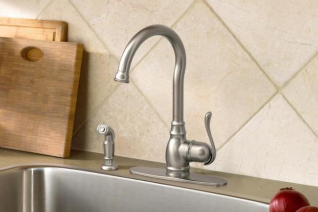 The Best Kitchen Faucet Brands Option: Moen