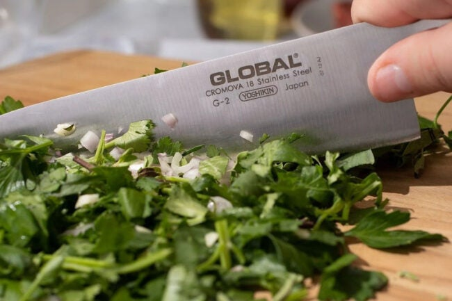 The Best Kitchen Knife Brand Option: Global Cutlery USA