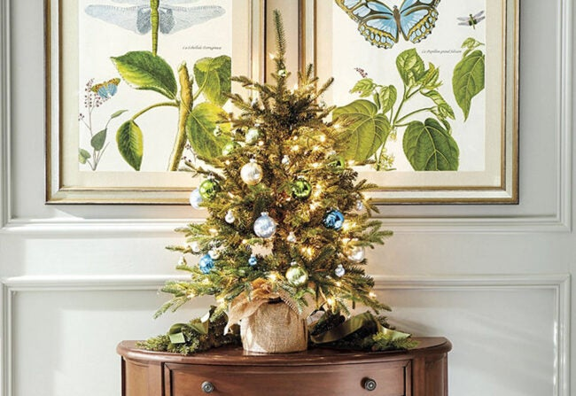 The Best Places to Buy Christmas Trees Option: Ballard Designs
