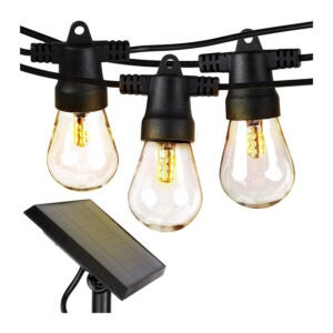 The Best Solar Christmas Light Option: Brightech Ambience Pro Solar Powered String Lights