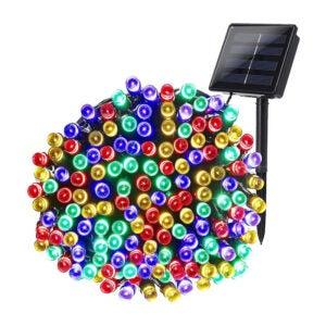 The Best Solar Christmas Light Option: Joomer Multi-Color Solar Christmas Lights