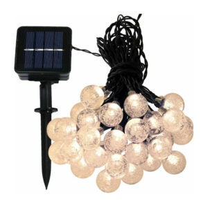 The Best Solar Christmas Light Option: Sol 72 Outdoor Wiltshire Globe String Light