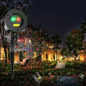 The Best Christmas Light Projectors Option: COOWOO Christmas Laser Lights