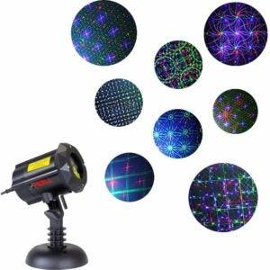 The Best Christmas Light Projectors Option: LedMAll Outdoor Laser Christmas Lights