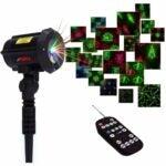 The Best Christmas Light Projectors Option: LedMAll Motion Pattern Christmas Lights