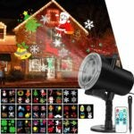 The Best Christmas Light Projectors Option: SunBox Live Christmas Holiday Lights Projector