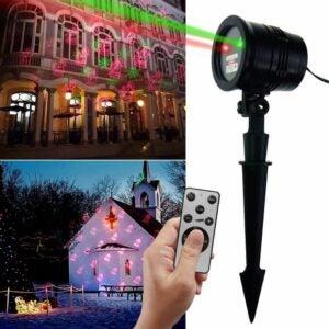 The Best Christmas Light Projectors Option: XVDZS Christmas Laser Lights