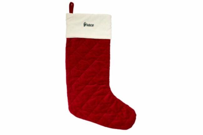 The Best Christmas Stockings Option: L.L. Bean Classic Velvet Christmas Stocking